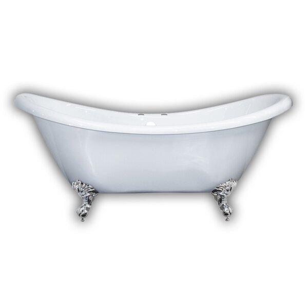 69 x 29 Clawfoot Bathtub by Cambridge Plumbing