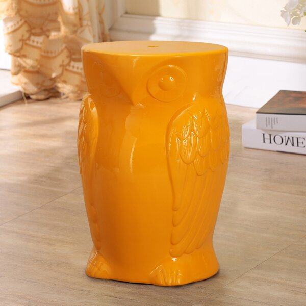 Beckemeyer Ceramic Garden Stool by World Menagerie World Menagerie