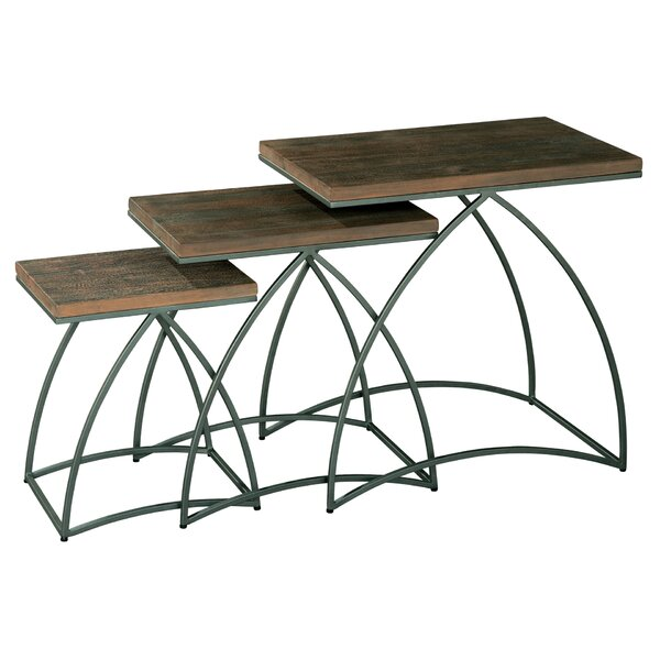 Tiemann 3 Piece Nesting Tables by Brayden Studio Brayden Studio