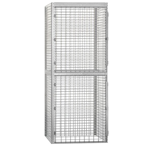 2 Tier 1 Wide Commercial Locker by Salsbury Industries