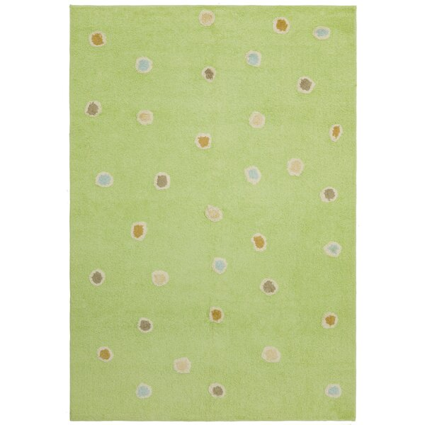 Carousel Green Dots Area Rug by St. Croix
