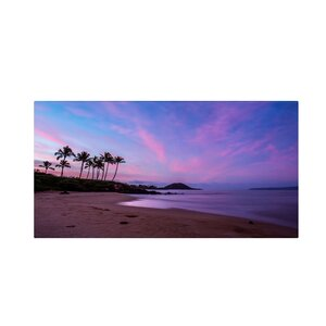 Secret Beach by Pierre Leclerc Photographic Print on Wrapped Canvas by Trademark Fine Art