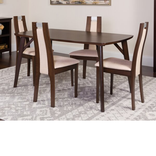 Hufford 5 Piece Dining Set by Winston Porter