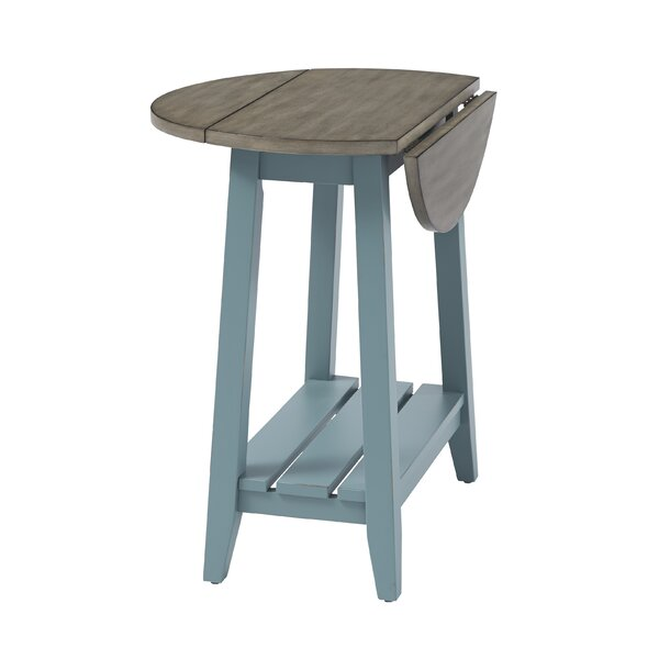 End Table with Storage by Longshore Tides Longshore Tides
