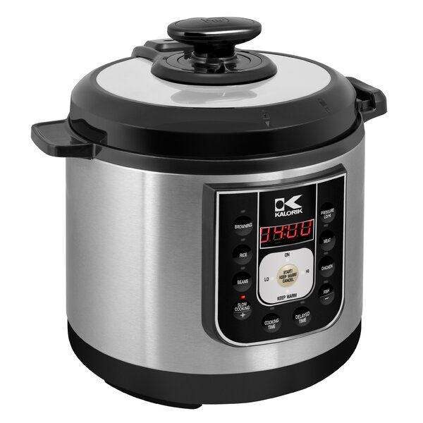 6.25 Qt. Stainless Steel Perfect Sear Pressure Coo