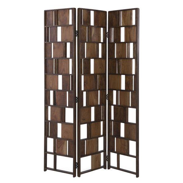 Kisner 3 Panel Room Divider by Brayden Studio