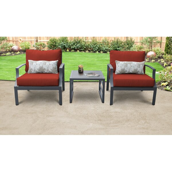 Benner 3 Piece Set with Cushions by Ivy Bronx