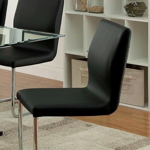 Waller Upholstered Dining Chair (Set of 2) by Orren Ellis