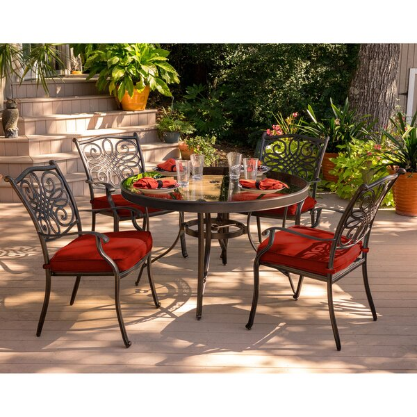 Raglin Traditions 5 Piece Dining Set by Astoria Grand
