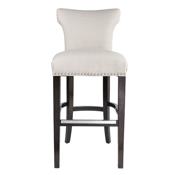Dougherty 31 Wood Framed Bar Stool by Darby Home Co