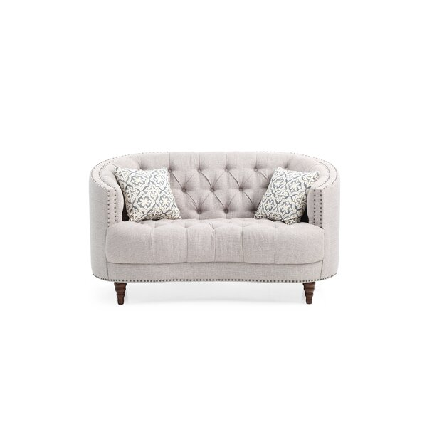 Review Jordynn Curved Loveseat