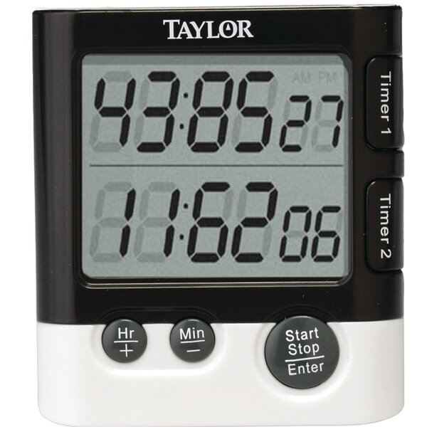 Dual Event Digital Clock/Timer by Taylor