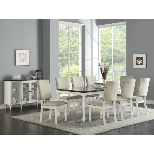 Wilton 9 Piece Dining Set by Highland Dunes Highland Dunes