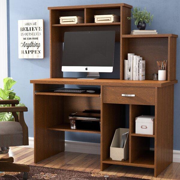 Cushman Computer Desk with Hutch by Red Barrel Studio