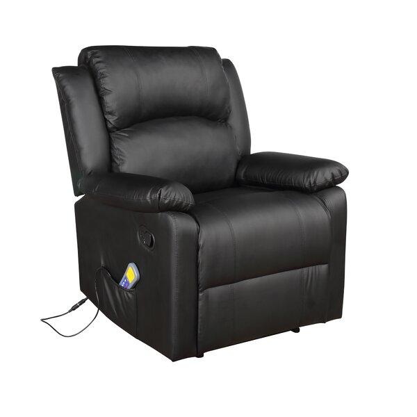 Reclining Heated Massage Chair Red Barrel Studio W002928817