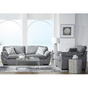 Whitemore 2 Piece Standard Living Room Set by Latitude Run®