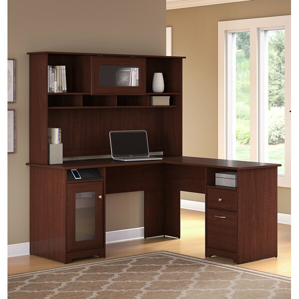 Hillsdale 3 Piece L-Shaped Desk Set with Hutch & Bookcase by Red Barrel Studio
