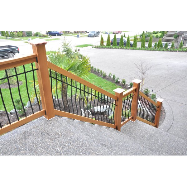 3 ft. H x 6 ft. W Tuscany Stair Railing by Vista Railing Systems Inc