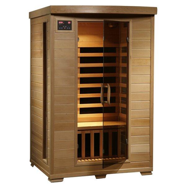Modular Baltic Leisure 2 Person FAR Infrared Sauna by Radiant Saunas