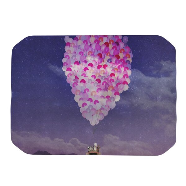 Never Stop Exploring IV Placemat by KESS InHouse