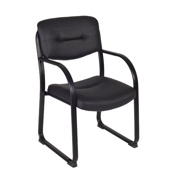 Crusoe Leather Guest Chair by Regency