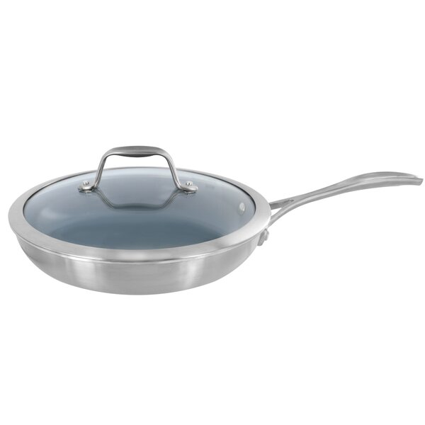 Spirit 9.5 Non-Stick Frying Pan with Lid by Zwilling JA Henckels
