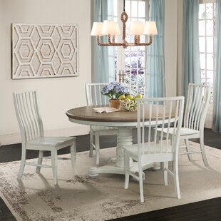 Miner 5 Piece Extendable Solid Wood Dining Set By August Grove