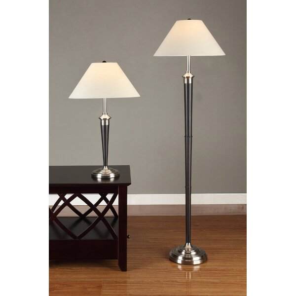 2 Piece Table and Floor Lamp Set by Artiva USA