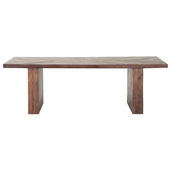 Amezcua Solid Wood Dining Table by Foundry Select