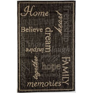 Order Kalama Black Indoor/Outdoor Area Rug By Red Barrel Studio
