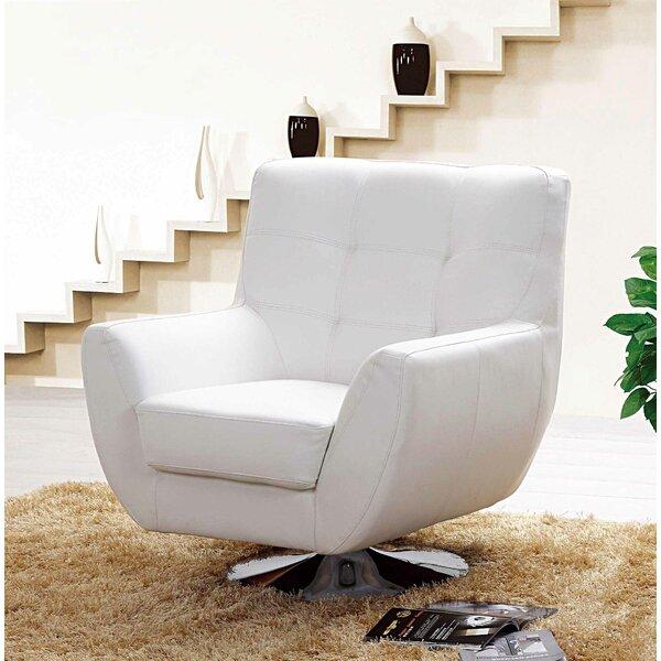 Rupp Swivel Armchair by Orren Ellis