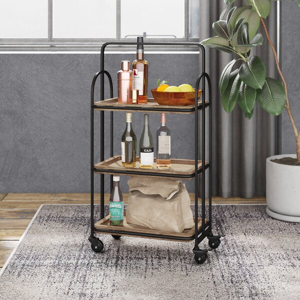 Bengal Bar Cart by Trent Austin Design