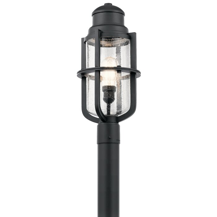 h copper mount dimensions usa d post outdoor banford lantern made rustic dark seeded light finish x socket medium glass in size w