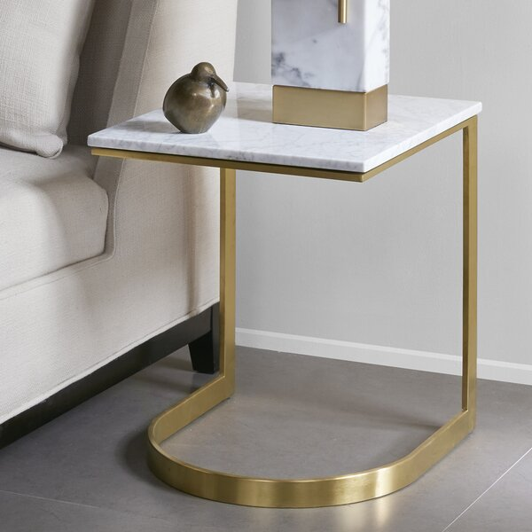 Ariana Marble End Table by Mercer41