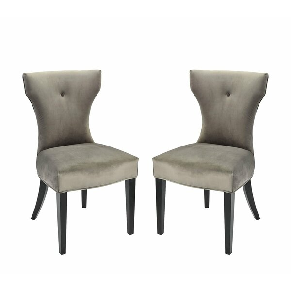Hainsworth Upholstered Dining Chair (Set of 2) by Latitude Run Latitude Run
