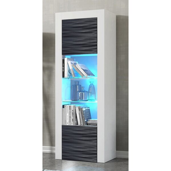 Review Milano Wavy Fronts Matte Body Standard Bookcase