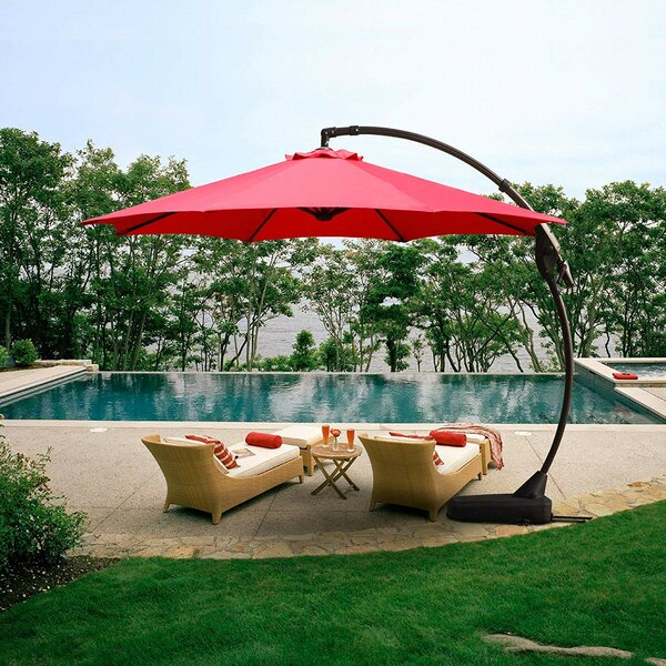 Tennie 12' Cantilever Umbrella by Darby Home Co Darby Home Co