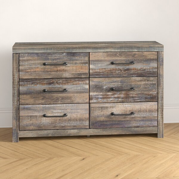 Cali 6 Drawer Double Dresser by Foundstone