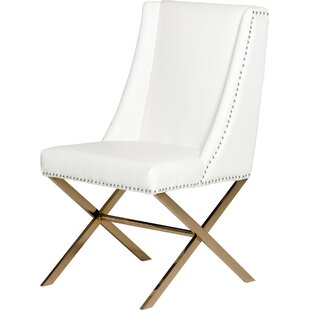 Check Prices Calmar Upholstered Dining Chair by Wade Logan