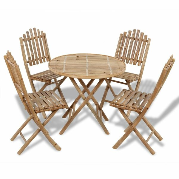Mira 5 Piece Dining Set by Bayou Breeze