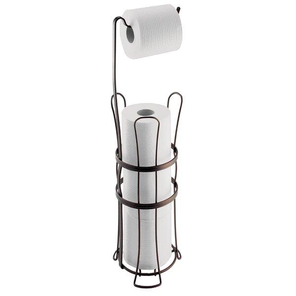 Eisenman Free Standing Toilet Paper Roll Holder