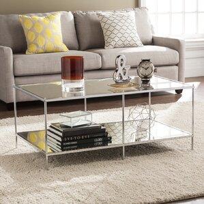 Mirrored Coffee Table mirrored coffee tables you'll love