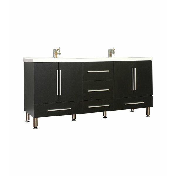 Galvin Modern 67 Double Bathroom Vanity Set