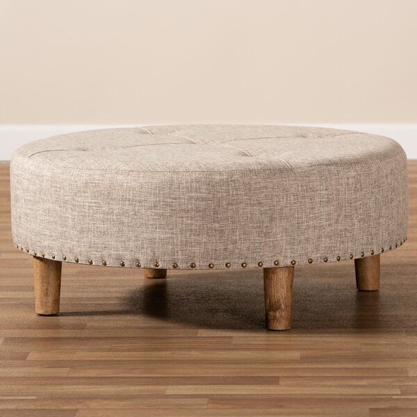Simoes Tufted Cocktail Ottoman by Millwood Pines