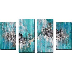 I Desire Only You by Mark Lawrence 4 Piece Painting Print on Wrapped Canvas Set by Picture Perfect International