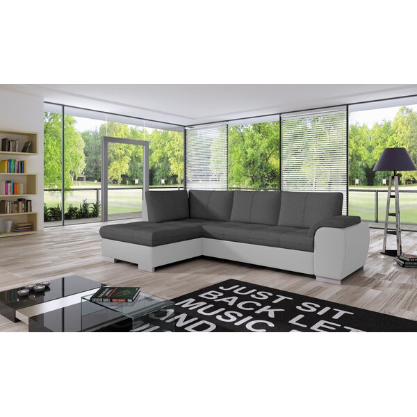 Cordoba Mini Sleeper Sectional by Orren Ellis