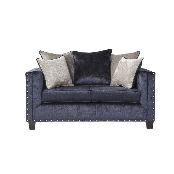 Large Selection Keyone Loveseat by Mercer41 by Mercer41