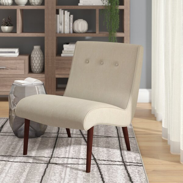 Quinten Slipper Chair by Mercury Row