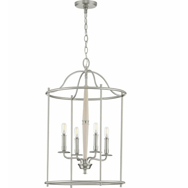 Rourke 4 - Light Lantern Geometric Pendant by Darby Home Co Darby Home Co