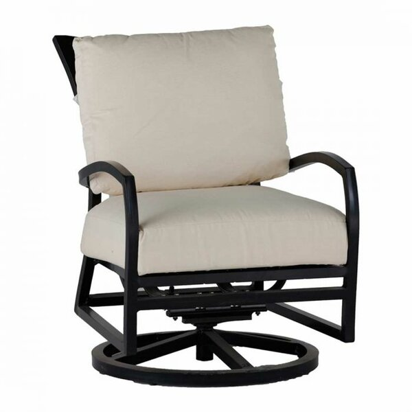 Aire Swivel Rocking Chair with Cushion by Summer Classics